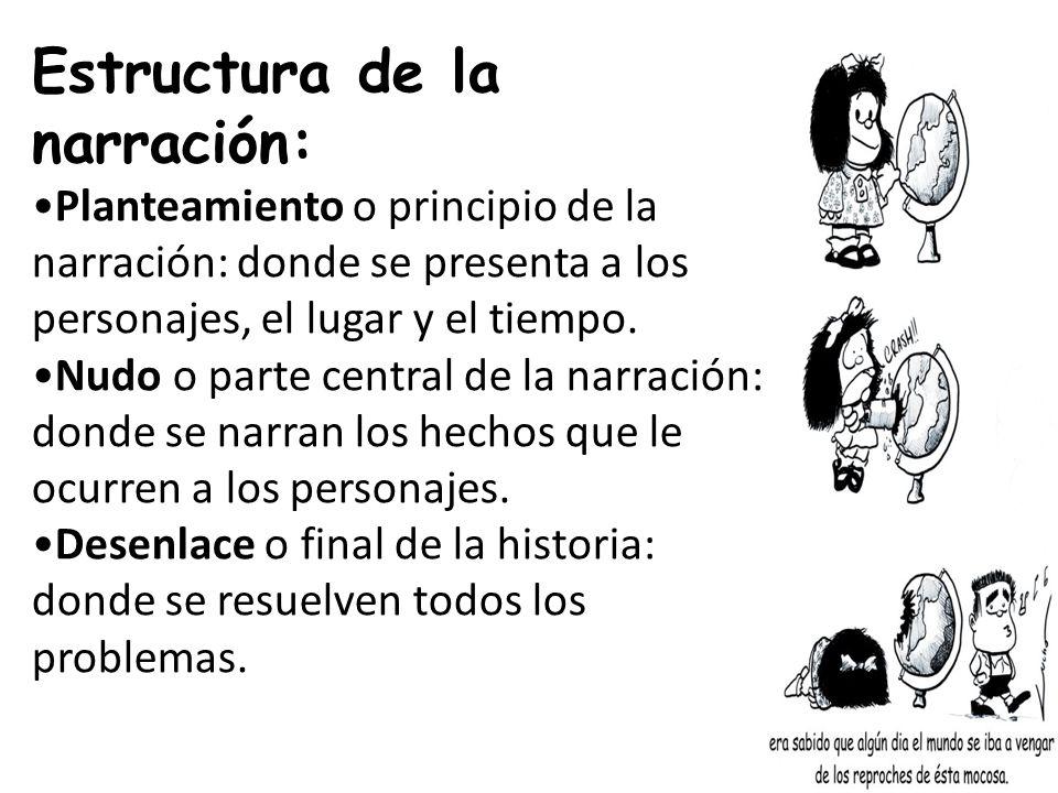 Estructura Narracion Literaria