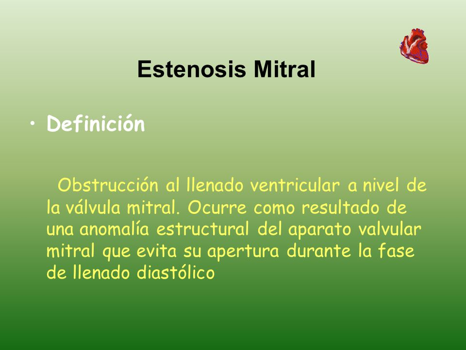 Enfermedad de la válvula mitral - ppt descargar