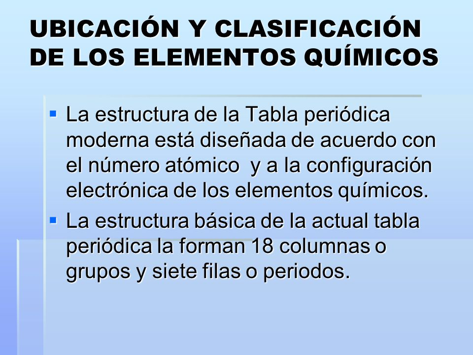 Primeros intentos de clasificacin ppt video online descargar tabla peridica 18 ubicacin urtaz Gallery