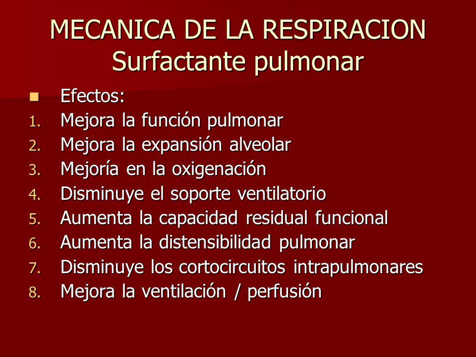 MECANICA DE LA RESPIRACION - ppt descargar