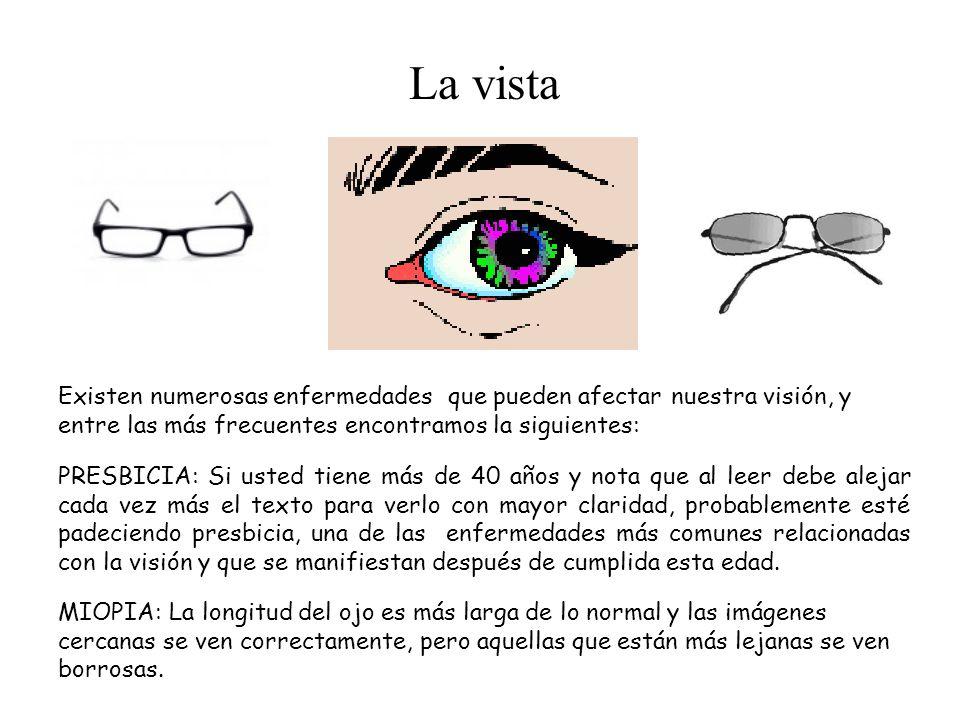 c00e7c7faa La vista Existen numerosas enfermedades que pueden afectar nuestra ...