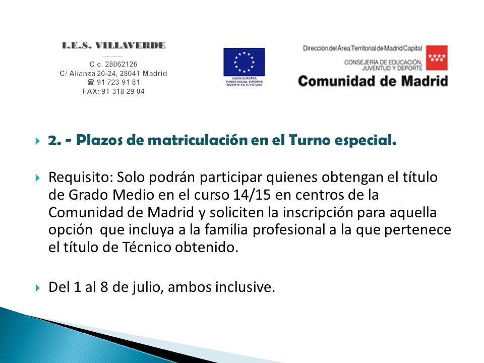 Pruebas De Acceso En La Comunidad De Madrid Ppt Descargar