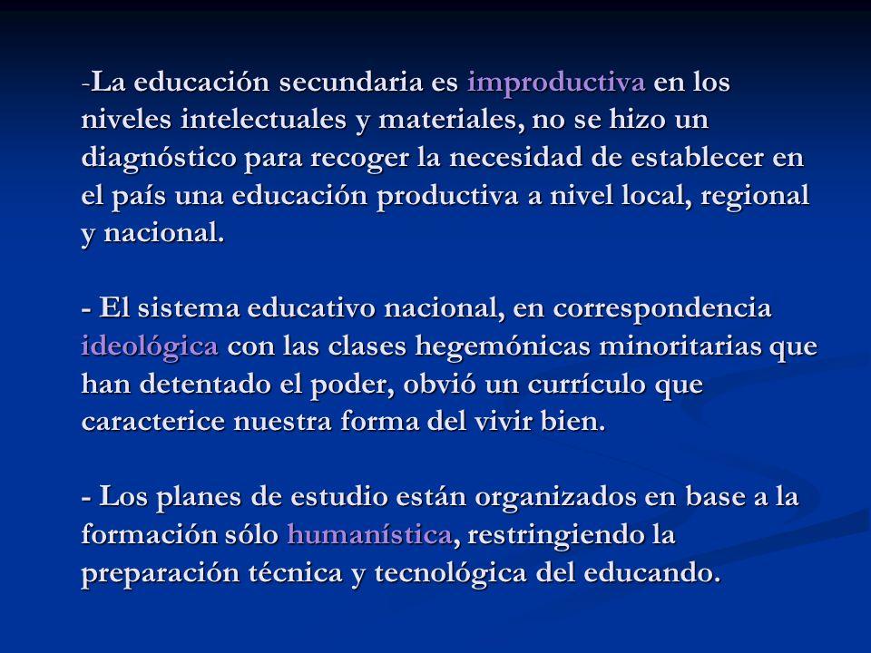 MINISTERIO DE EDUCACIÓN SERVICIO DEPARTAMENTAL DE EDUCACION UNIDAD ...
