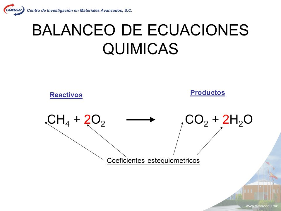 COEFICIENTES ESTEQUIOMETRICOS PDF DOWNLOAD