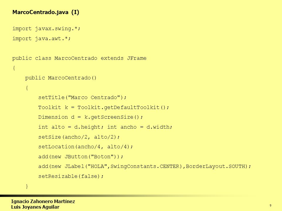 Curso Programación en Java - ppt descargar