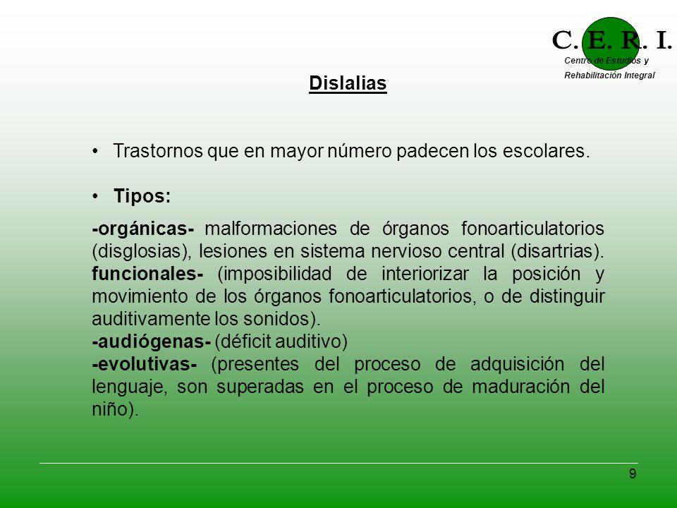 C. E. R. I. Centro de Estudios y Rehabilitación Integral. - ppt ...