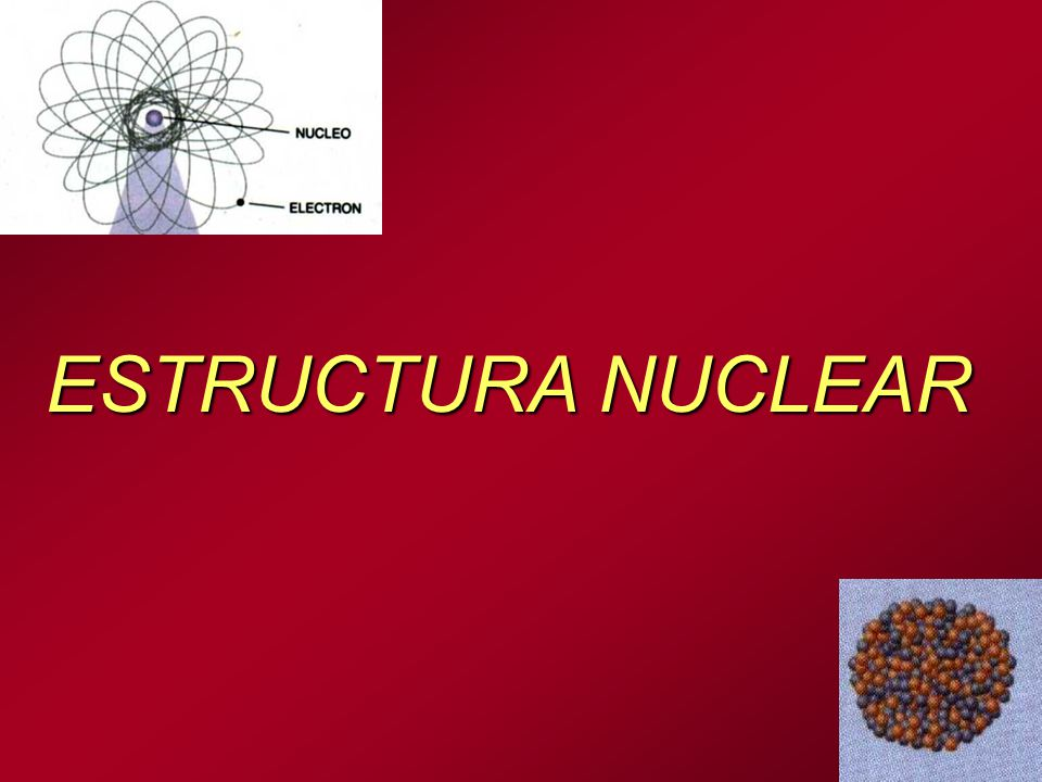 Estructura Nuclear Ppt Descargar