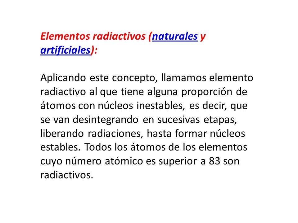 Existen dos sistemas que son los ms investigados a travs de los 8 elementos radiactivos urtaz Choice Image