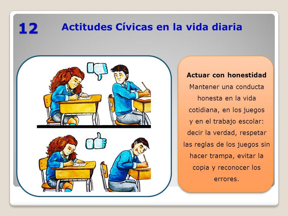 Actitudes Cívicas En La Vida Diaria Ppt Video Online Descargar