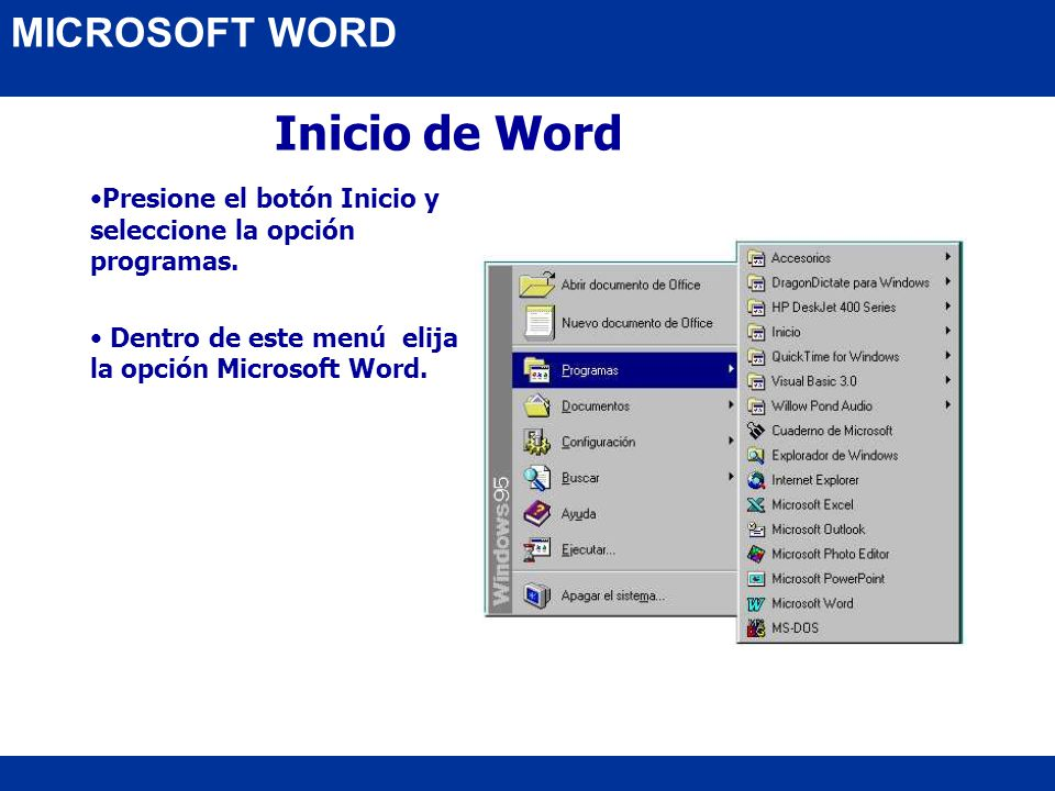 MICROSOFT OFFICE Microsoft Word. - ppt descargar