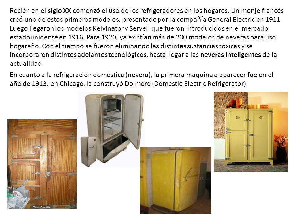 Neveras Antiguas En 1805 El Inventor Estadounidense Oliver Evans Creó La Primera Máquina Refrigerante En 1815 El También Norteamericano John Goorie Ppt Video Online Descargar