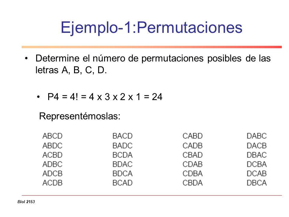 PERMUTACIONES EJEMPLOS PDF