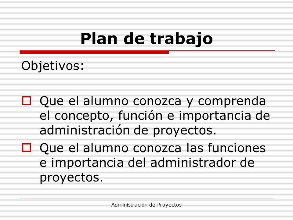 Administración de proyectos - ppt descargar