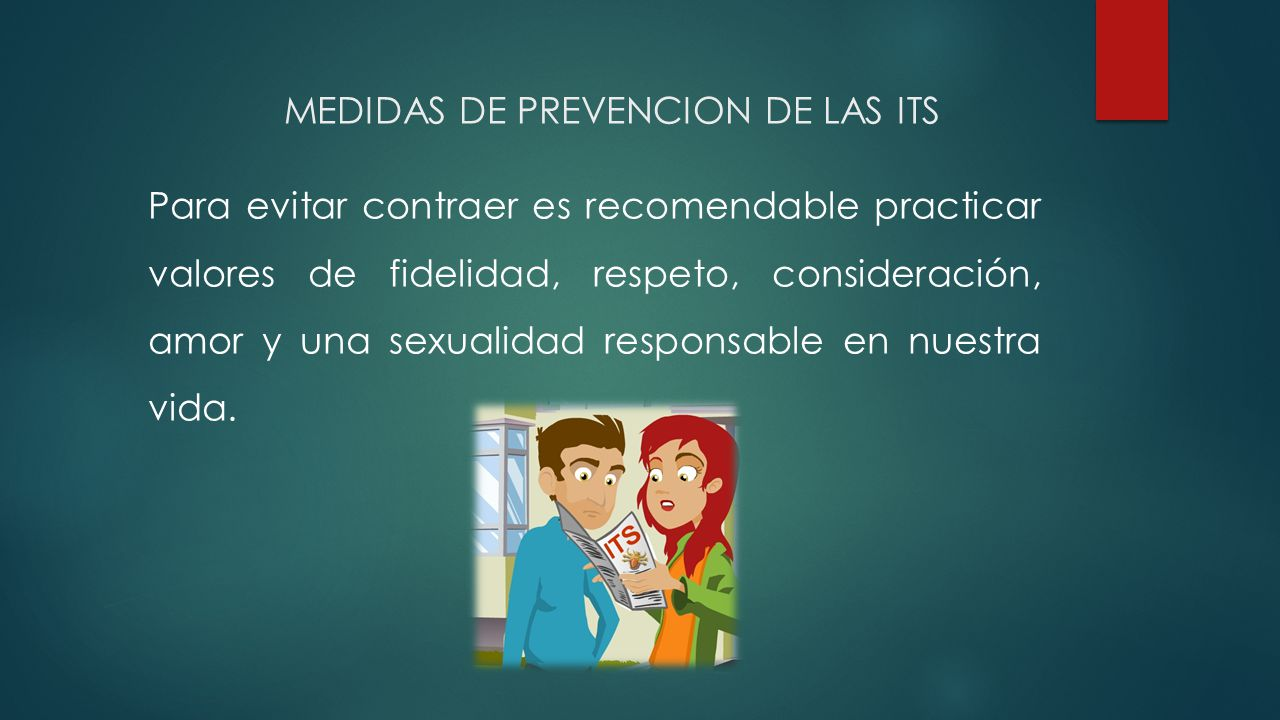 MEDIDAS DE PREVENCION DE LAS ITS