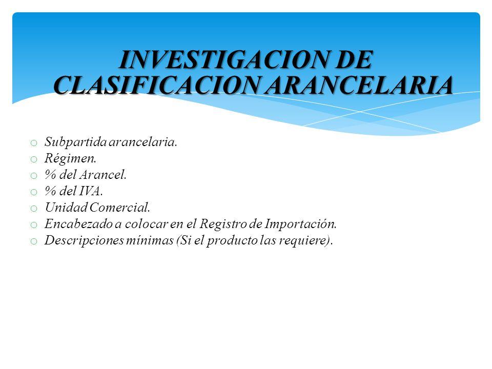 TALLER SOBRE ARANCELES Y CLASIFICACION ARANCELARIA DE LAS