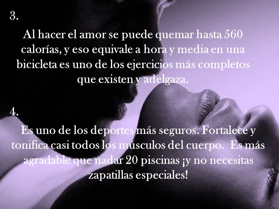 Hacer el amor diario beneficios [PUNIQRANDLINE-(au-dating-names.txt) 34