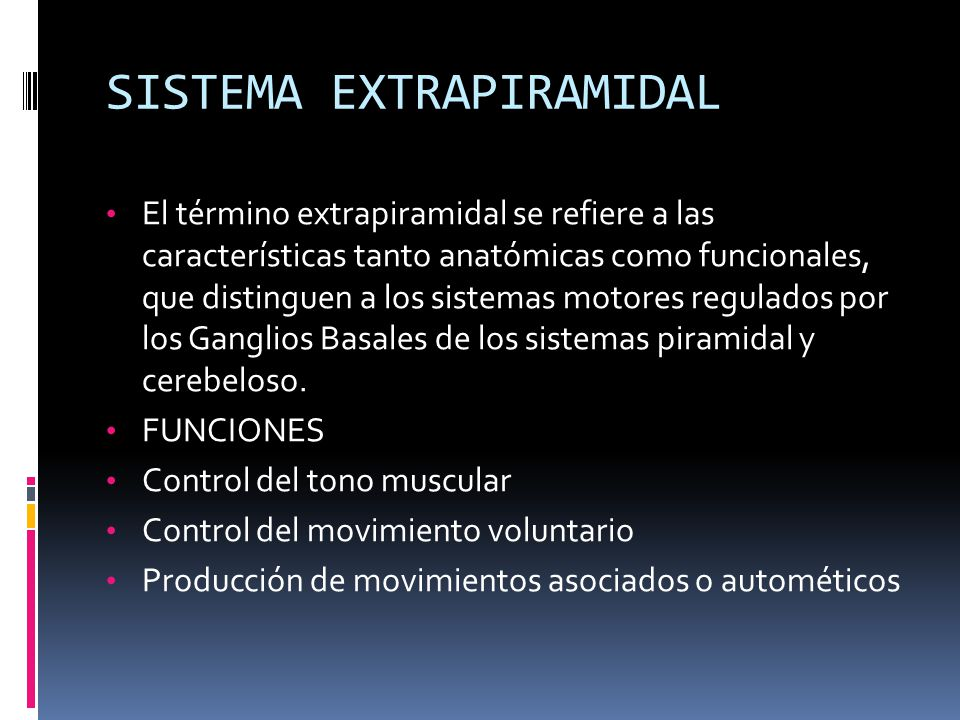 MOVIMIENTOS ANORMALES - ppt video online descargar