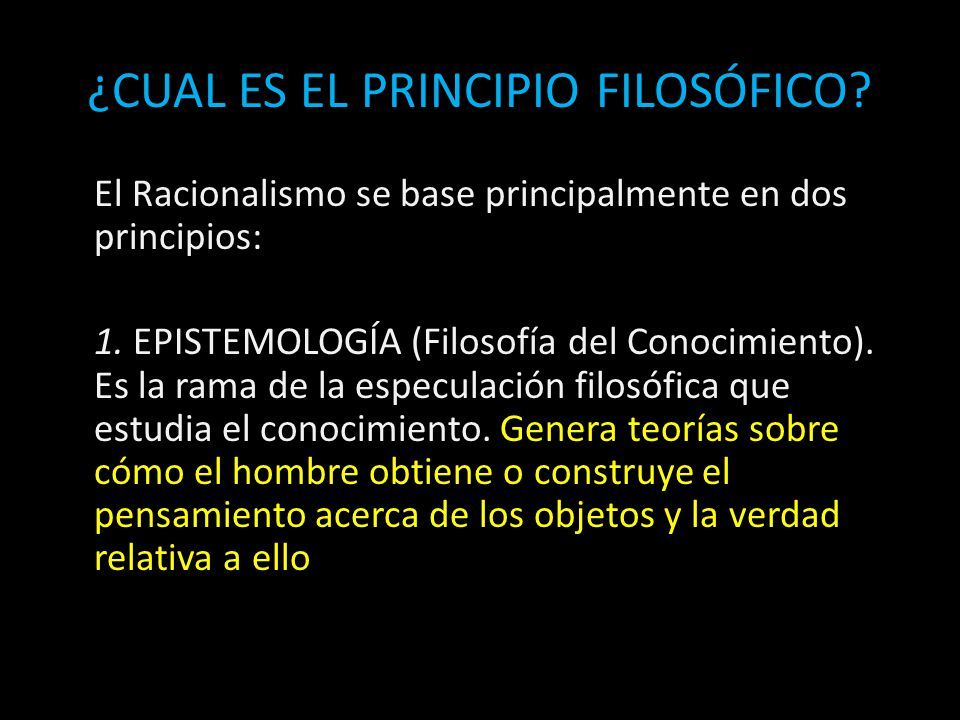 1bc6fad12c19 EL RACIONALISMO. - ppt video online descargar