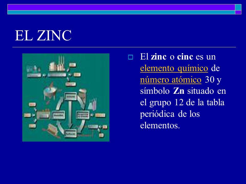 El hierro el hierro es la ms occidental y meridional de las islas 4 el zinc el zinc o cinc es un elemento qumico de nmero atmico 30 y smbolo zn situado en el grupo 12 de la tabla peridica de los elementos urtaz Images