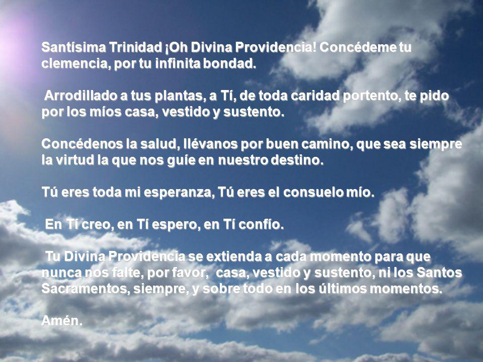 Oración A La Divina Providencia Ppt Descargar