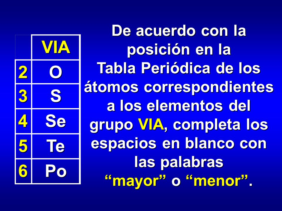 Ia viiia iia iiia iva va via viia viii iiib ivb vb vib viib ib iib de acuerdo con la posicin en la tabla peridica de los tomos correspondientes a los elementos urtaz Choice Image