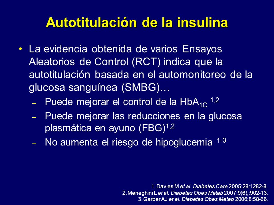 Automonitoreo diabetes ppt insulina