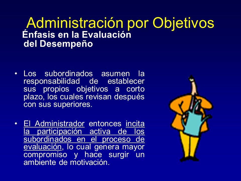 Administración por Objetivos - ppt descargar