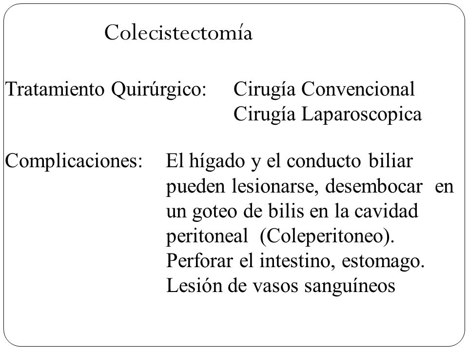 Dieta para colecistectomia