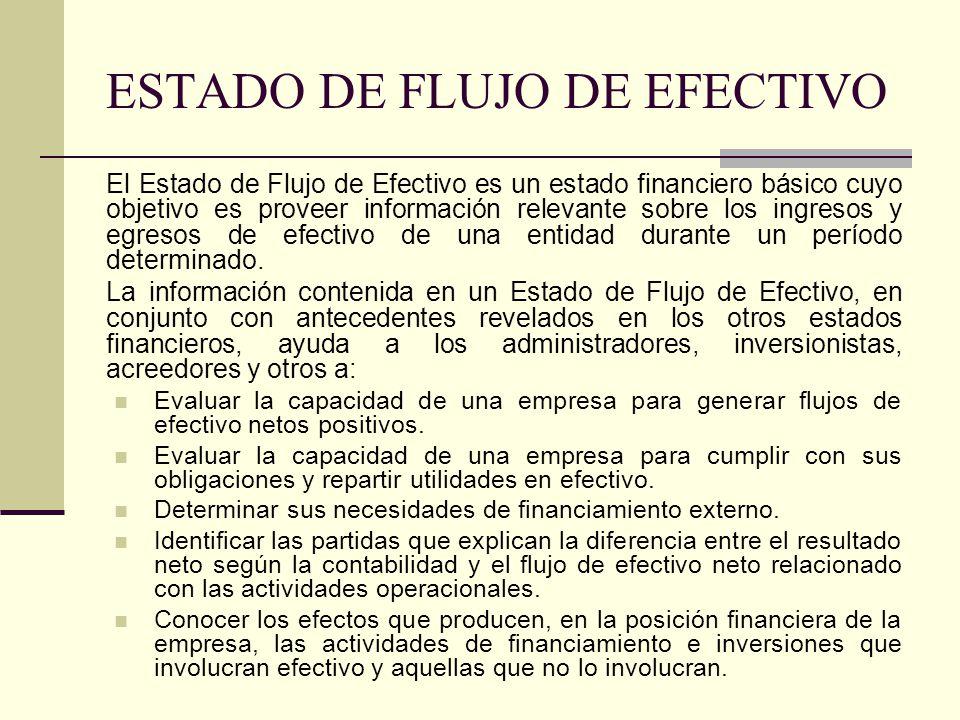 ESTADO DE FLUJO DE EFECTIVO ppt video online descargar