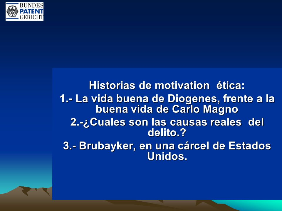 Historias de motivation ética: