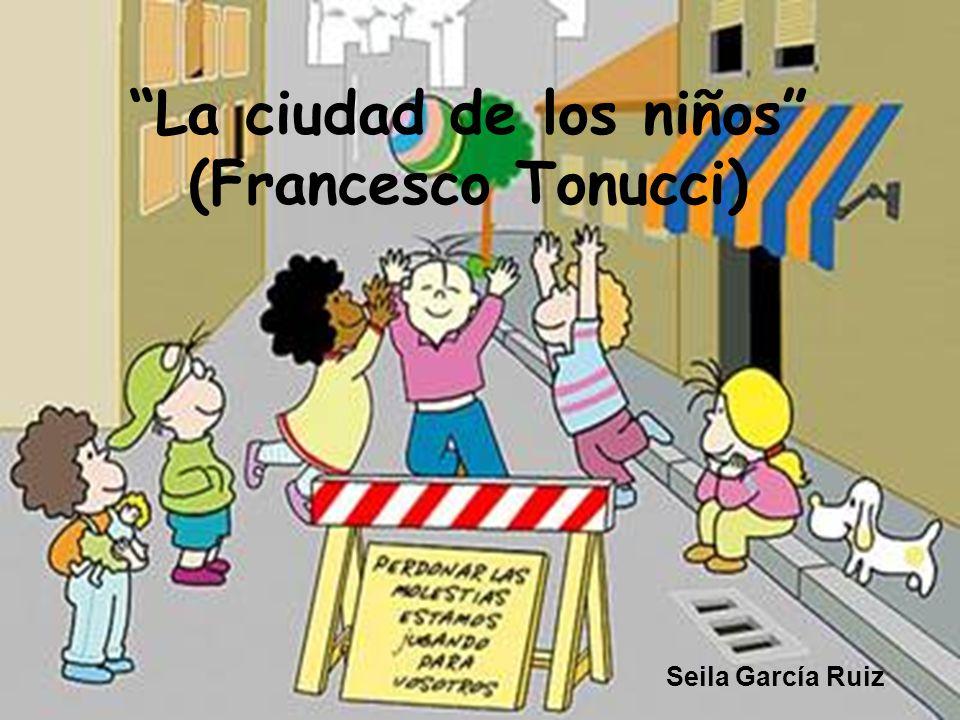Resultado de imagen de francesco tonucci la ciudad de los niños