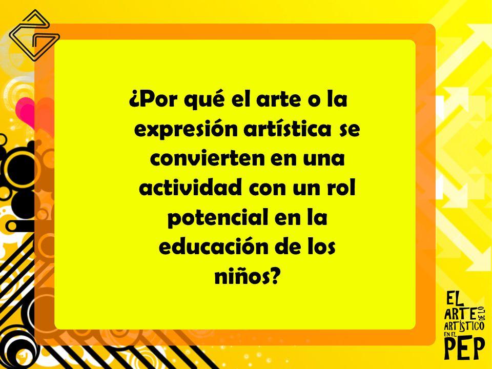 Por qué el arte o la expresión artística se convierten en una ...
