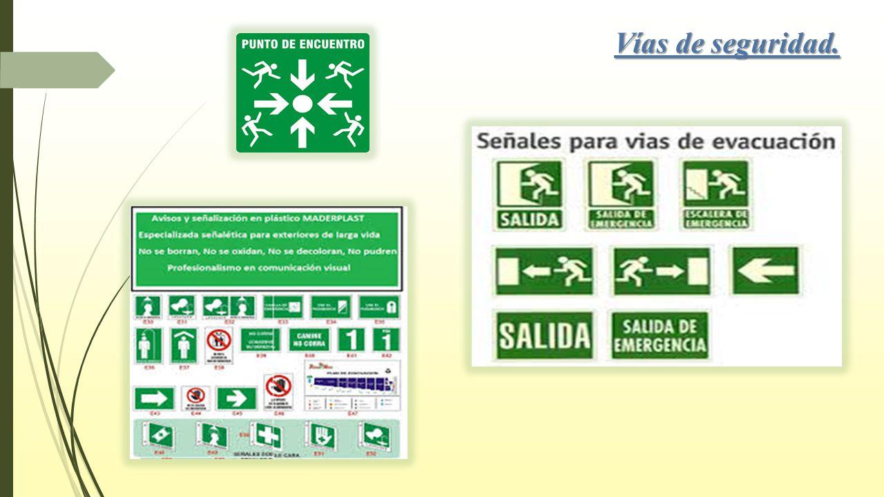Excepcional Señales De Seguridad Para Colorear Colección - Enmarcado ...