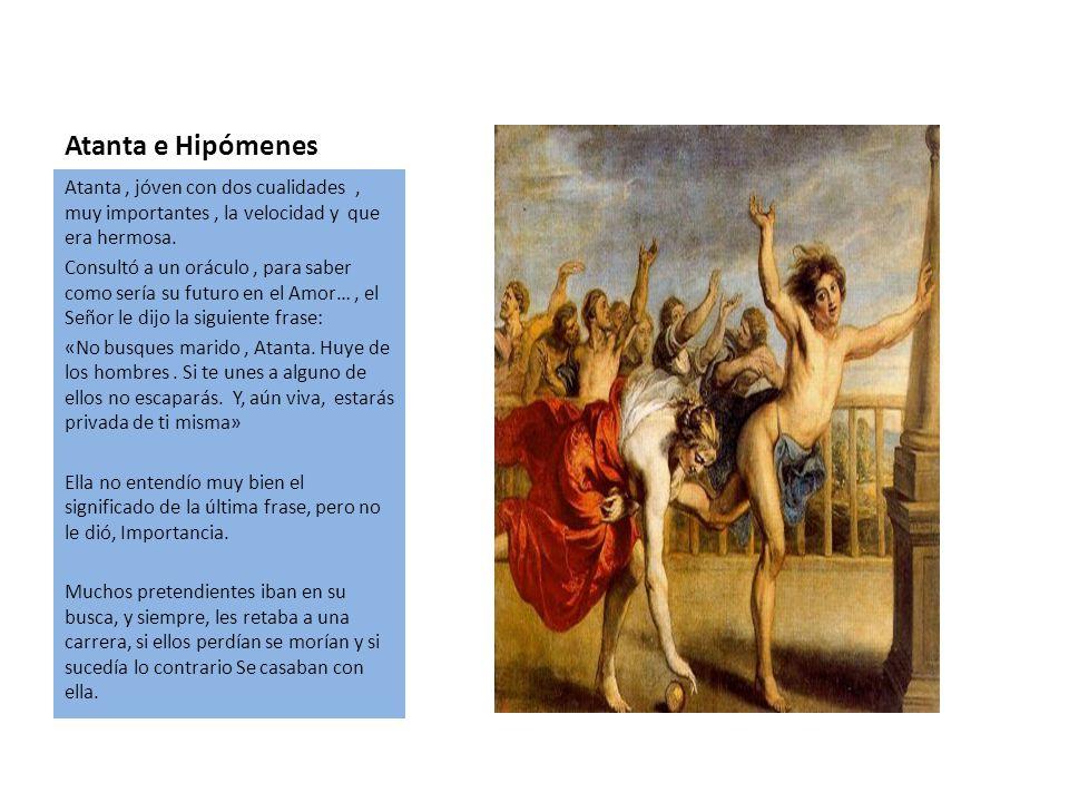 Atalanta E hipómenes Marcos Miguel Y Álvaro.. - ppt descargar