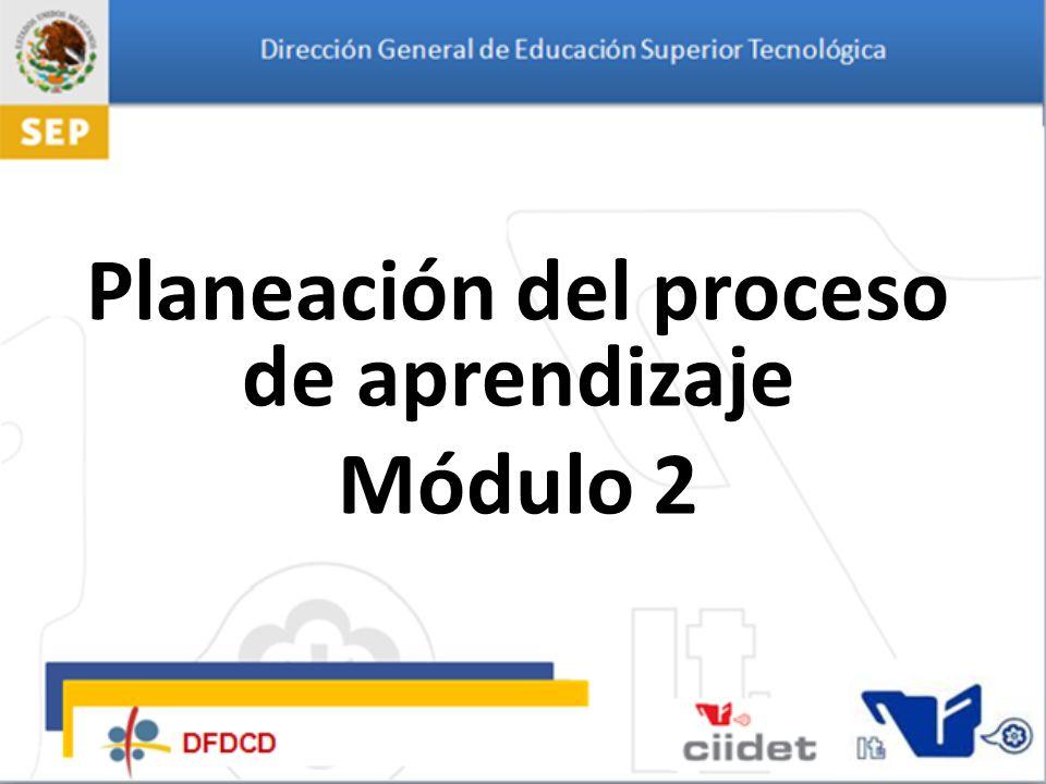 Planeación Del Proceso De Aprendizaje Módulo 2 Ppt Descargar