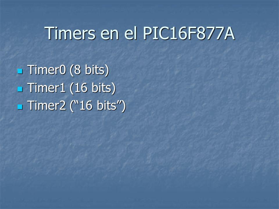 PIC16F877 Timers  - ppt descargar
