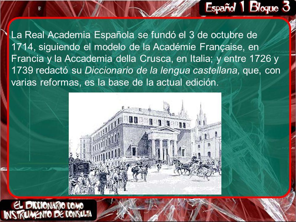 Según la Real Academia de la Lengua Española, el diccionario es un ...
