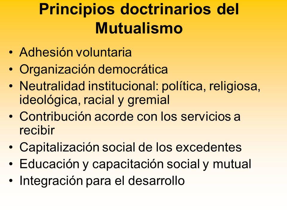 Resultado de imagen para principios del mutualismo
