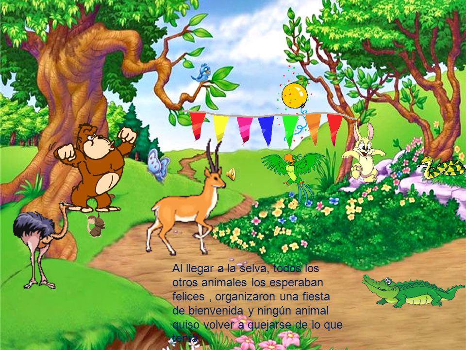 La Aventura De Los Animales De La Selva Ppt Descargar