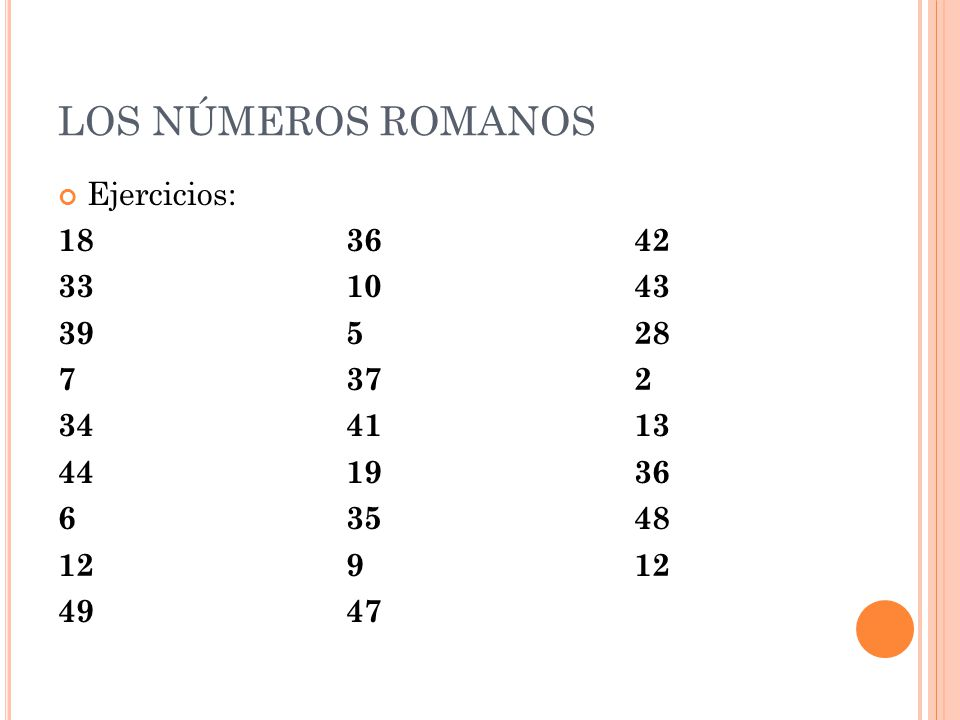 Los Números Romanos Ppt Video Online Descargar