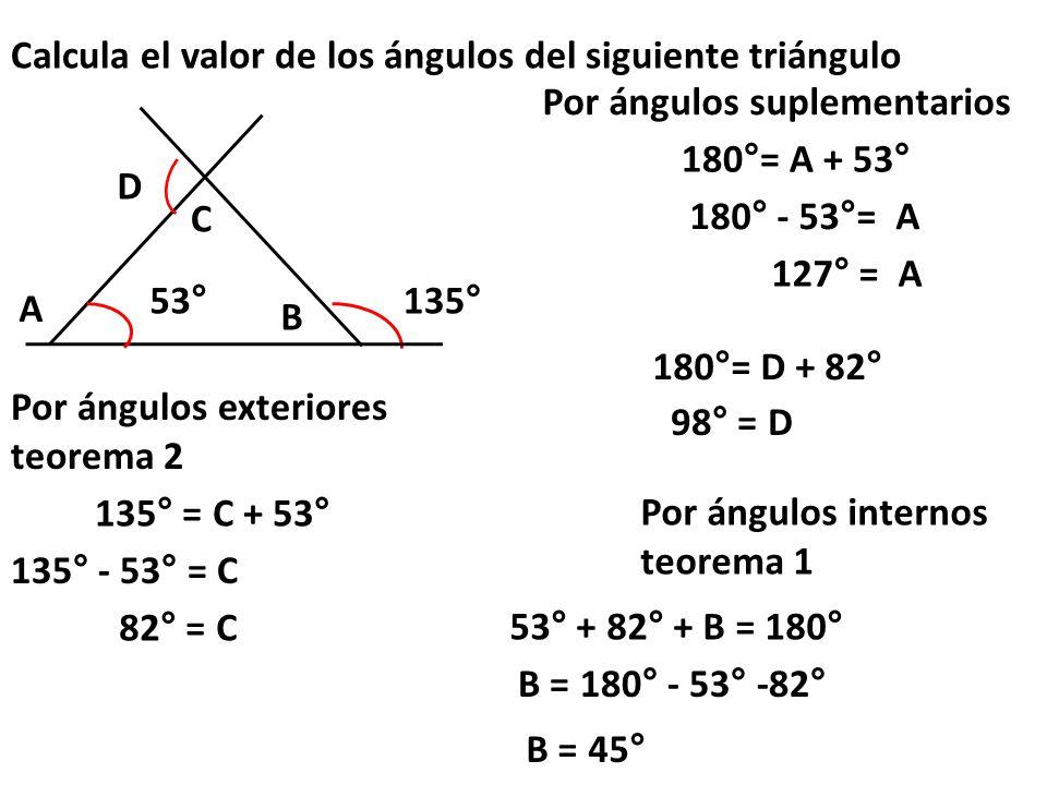 Calcula El Valor De Los ángulos Del Siguiente Triángulo Ppt Video Online Descargar