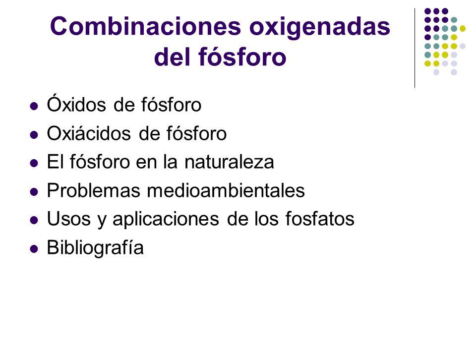 Combinaciones oxigenadas del fsforo ppt video online descargar combinaciones oxigenadas del fsforo urtaz Image collections
