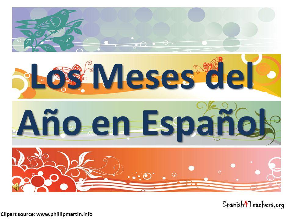 Los Meses Del Ano En Espanol Ppt Descargar