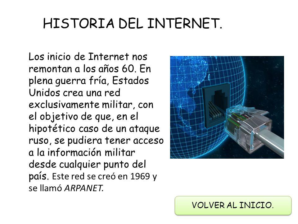 Resultado de imagen para CUANDO COMENZO INTERNET EN EL MUNDO