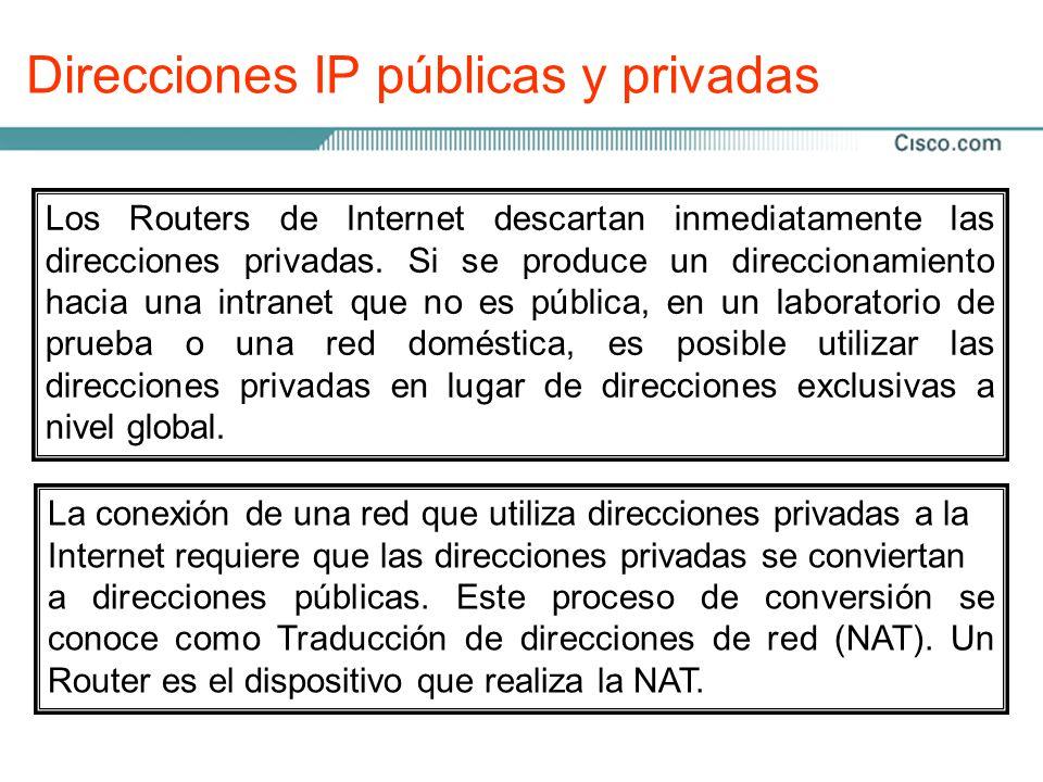 Conjunto de protocolos TCP/IP y direccionamiento IP Semestre