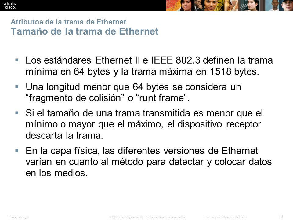 Capítulo 5: Ethernet Introducción a redes Capítulo 5: Ethernet - ppt ...