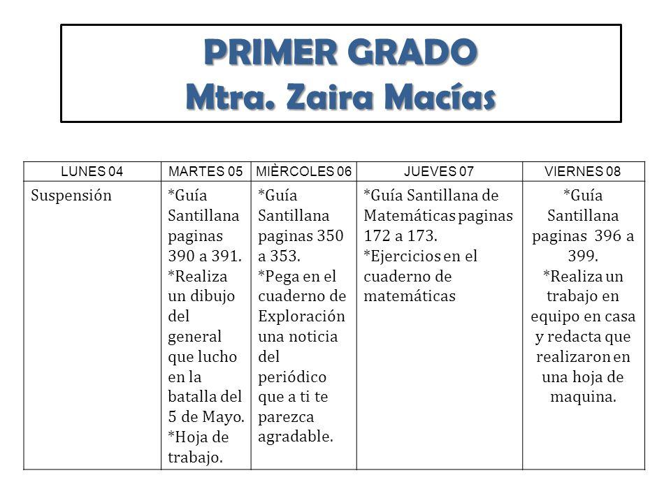 Tarea de Español Primaria Del 04 al 08 de Mayo. - ppt descargar