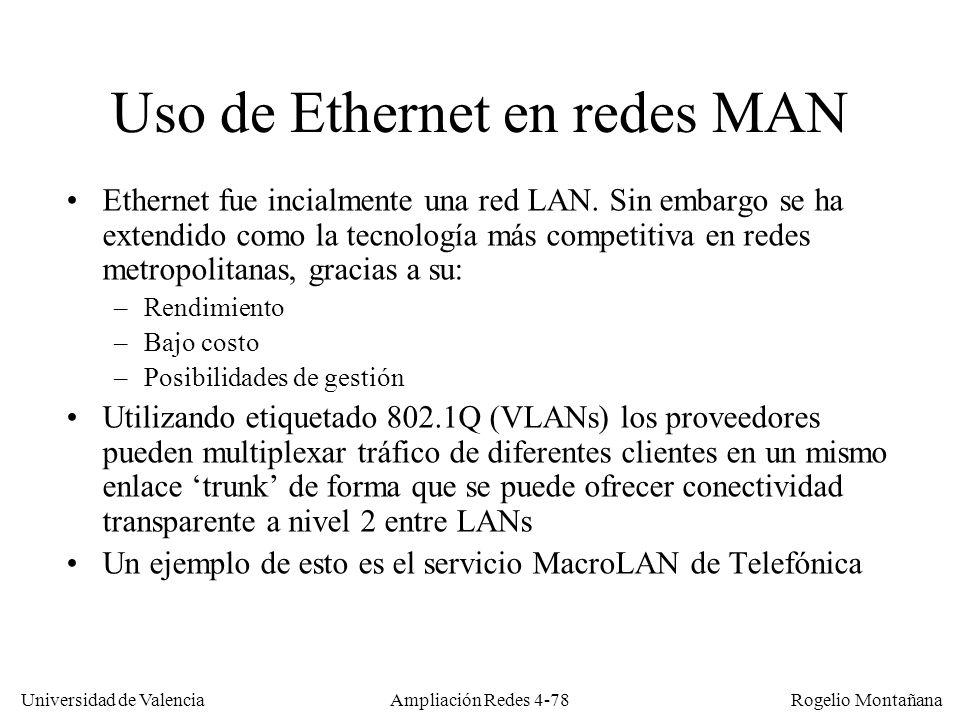 Tema 4 Redes de alto rendimiento - ppt descargar