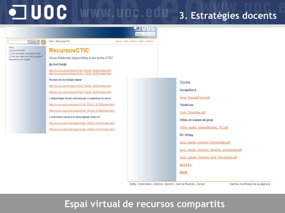 Espai virtual de recursos compartits