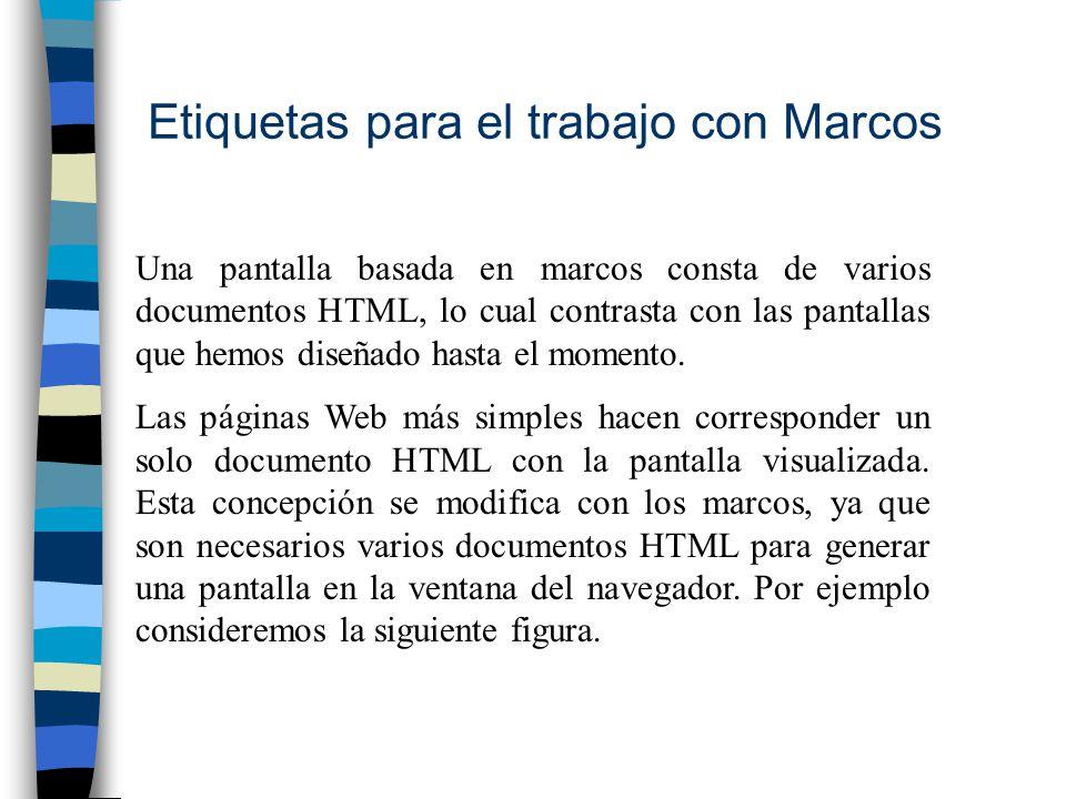 Etiquetas para el trabajo con Marcos - ppt descargar